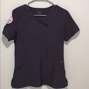 Brand new Cherokee infinity scrub top in pewter